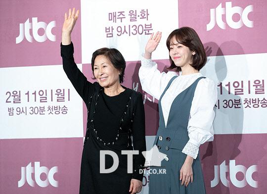 김혜자-한지민, `드라마 속 둘 다 김혜자` [스타포토]